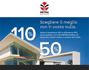 Superbonus e Ecobonus: un'occasione per la tua casa con METRA Building