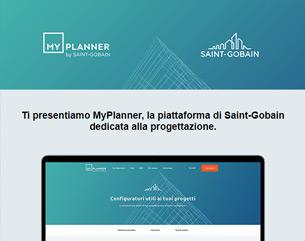 MyPlanner, la piattaforma Saint-Gobain dedicata alla progettazione