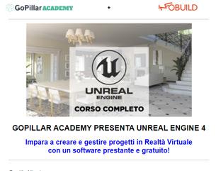 Corso Unreal Engine 4 a 99€