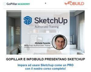 Corso Sketchup a 109€ con Certificazione Ufficiale