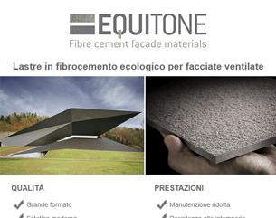 EQUITONE: lastre in fibrocemento ecologico per facciate ventilate