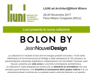 A@W 2017 – Bolon by Jean Nouvel Design