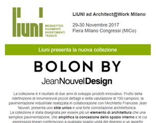 A@W 2017 – Bolon by Jean Nouvel Design