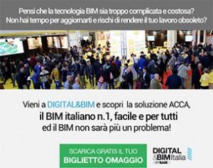 Biglietto omaggio ACCA per il DIGITAL&BIM
