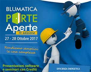 CFP, ECM e presentazioni software a Blumatica Porte Aperte: non mancare