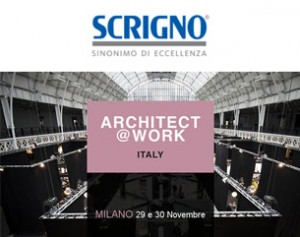 Scrigno a Architect at Work Italy – Save the date