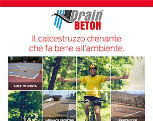 DrainBeton, il calcestruzzo drenante che fa bene all'ambiente