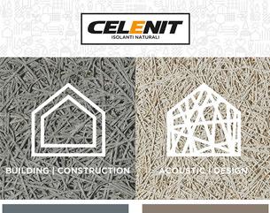 Pannelli isolanti naturali per l'edilizia e l'interior design