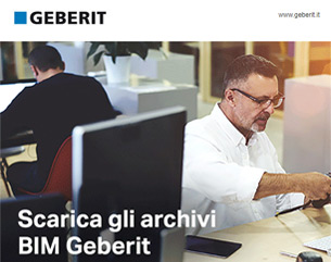 Nuovi archivi BIM Geberit, sempre aggiornati!
