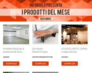 Infobuild consiglia… Novembre 2017