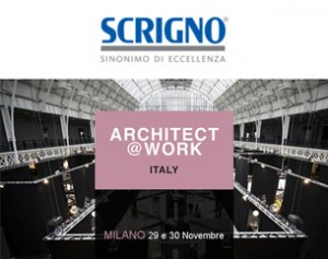 Scrigno protagonista a Milano di Architect at Work