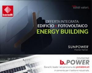 Baraclit b.POWER: prefabbricati che acquistano valore con il sole