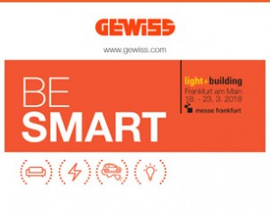 BE SMART: GEWISS a Light+Building