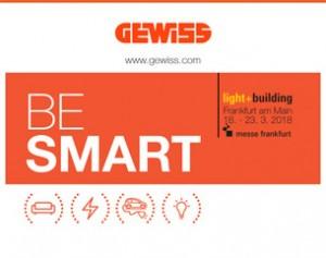 BE SMART: GEWISS a Light+Building