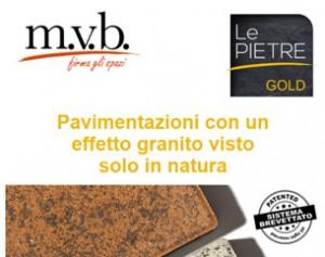 Linea Gold: pavimentazioni innovative effetto granito