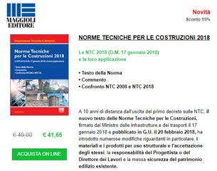 Nuove norme tecniche per le costruzioni 2018: testo integrale, applicazione e commento