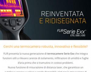 FLIR serie EXX: eccezionale sensibilità e nuova funzione di misurazione di distanza laser