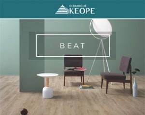 Beat di Ceramiche Keope: gres porcellanato tra rivoluzione e creatività