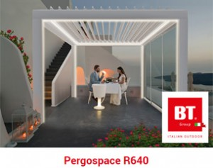 Pergospace R640: il nuovo concetto di outdoor targato BT Group