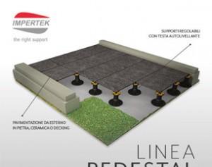 Pavimento da esterno? Linea Pedestal