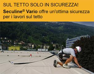 Sul tetto – solo in sicurezza con Sika Siculine®
