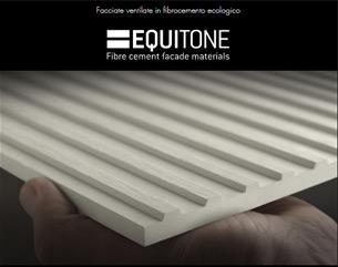 EQUITONE [linea] LT 90: la nuova finitura bianca in 3D per facciate ventilate