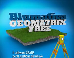 Con Geomatrix FREE il rilievo topografico è senza limiti