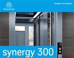 Scopri l'ascensore più smart per le città del futuro: synergy 300 è unico!