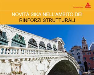 Novità Sika su sistemi FRP nei rinforzi strutturali