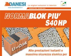 Ottime prestazioni isolanti e sicurezza sismica con Normablok Più S40 HP