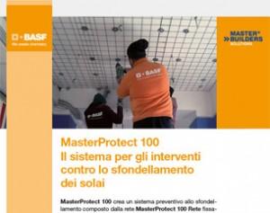 Contro lo sfondellamento dei solai MasterProtect 100!