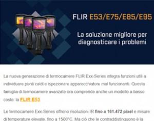 FLIR Exx-Series: la soluzione migliore per diagnosticare i problemi