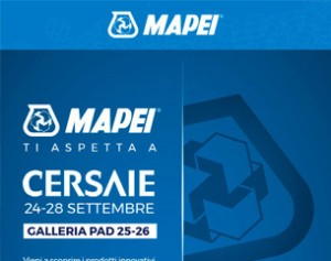 Mapei ti invita a Cersaie – Galleria Pad. 25-26