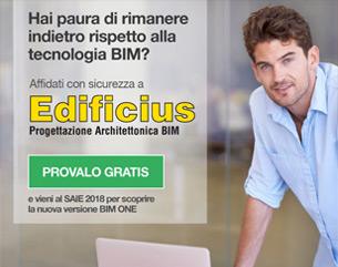 Progettazione architettonica BIM: scopri in anteprima al SAIE 2018 il nuovo Edificius