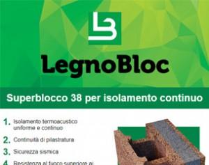 Isolamento termoacustico continuo con Superblocco 38
