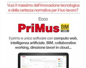 Scopri il nuovo PriMus con computo online: in anteprima al SAIE 2018