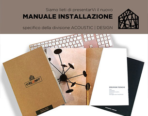 Celenit Acoustic | Design _ nuovo Manuale Installazione