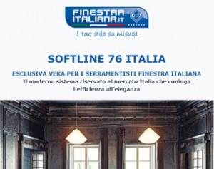 Elegante, efficiente, esclusivo: SOFTLINE 76 ITALIA, il sistema che mancava