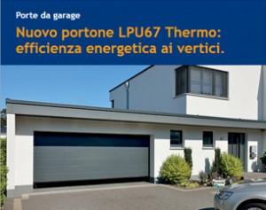 Nuovo portone LPU67 Thermo Hormann