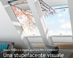 Nuova finestra FPU-V preSelect2 FAKRO