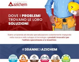Azichem, tecnologie e prodotti innovativi per l'edilizia e la bioedilizia