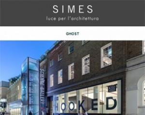 Ghost di Simes: la luce che si integra nel cemento