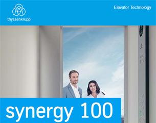 Scopri il nuovo synergy 100: l'ascensore più sicuro, efficiente e flessibile di sempre