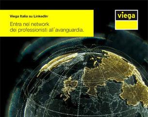 Ogni connessione conta: connettiti con Viega su LinkedIn