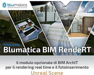 Rendering real time e fotoinserimento: prova gratis Blumatica