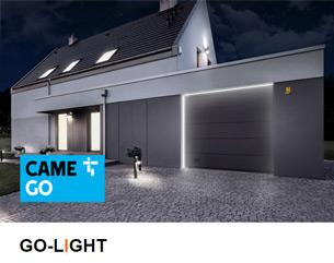 Scopri GO-LIGHT: il più potente sistema LED per porte garage CAME GO