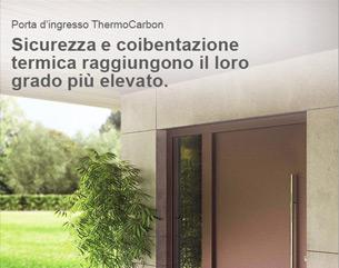 Nuova porta d'ingresso ThermoCarbon Hormann