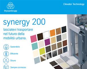 Nuovo synergy 200 | Gli edifici si sono evoluti. Anche i nostri ascensori