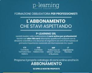 Abbonamento corsi online per professionisti