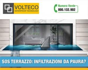 Impermeabilizzazione terrazzi con le tecnologie Volteco